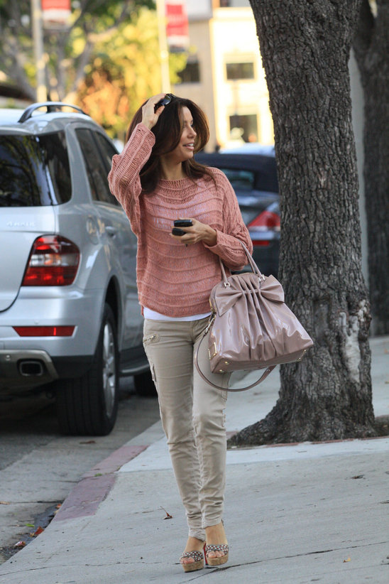 25 Amazing Street Style Combinations by Eva Longoria  Style Motivation