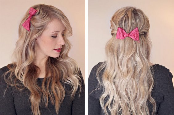 32 Adorable Hairstyles With Bows Style Motivation
