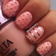stylish pink nail art ideas
