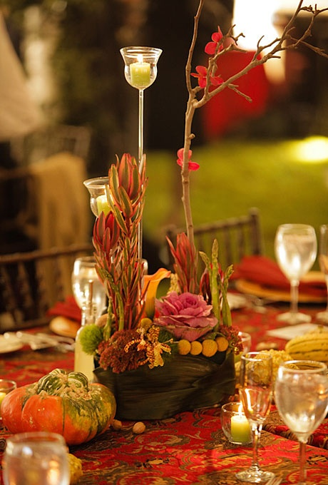 Decorative Fall Leaves Weddings