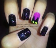 easy creative and funny nail