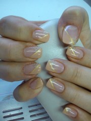 beautiful and simple nail design