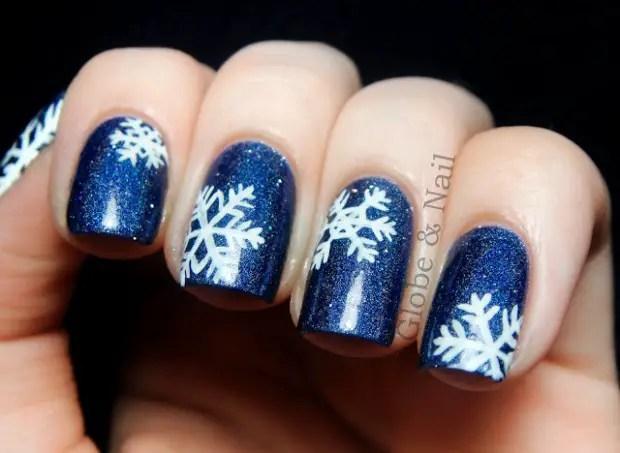 19 Gorgeous Winter Inspired Nail Art Ideas Style Motivation