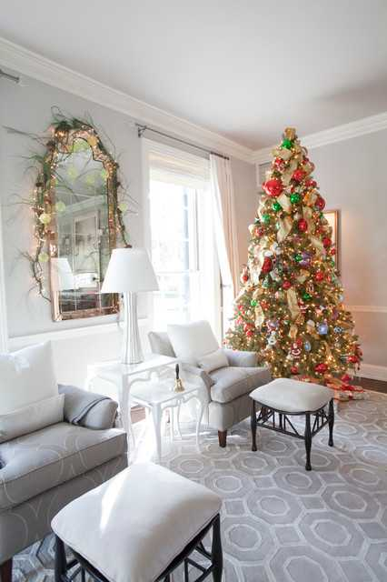 16 Brilliant Ideas How to Decorate Your Living Room for Christmas  Style Motivation
