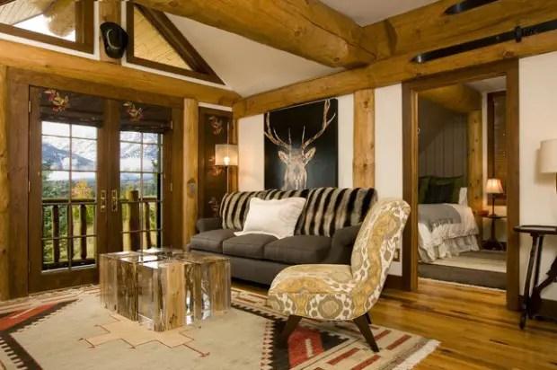 18 Cozy Rustic Living Room Design Ideas - Style Motivation
