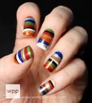 popular and creative nail art
