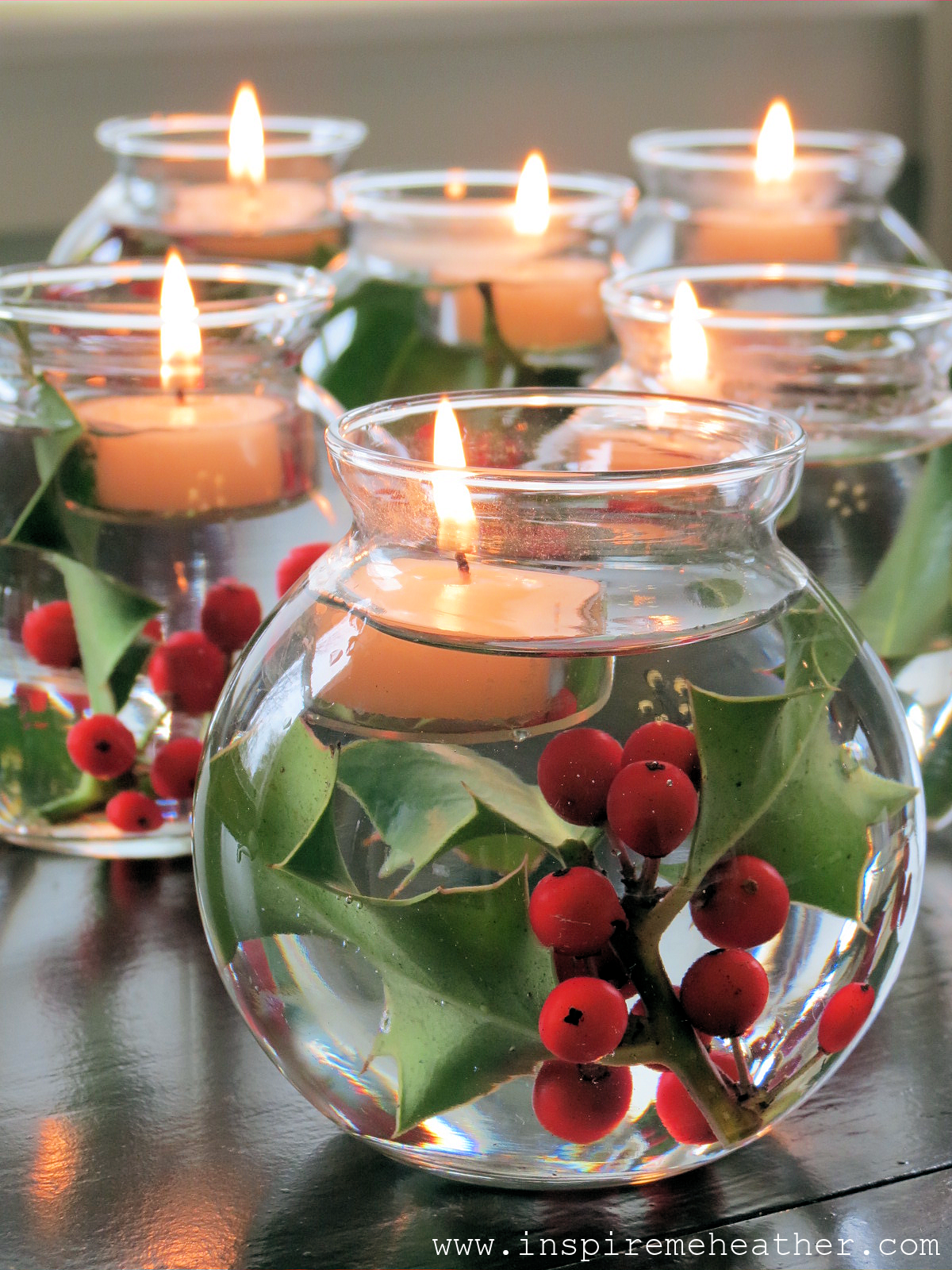Diy Christmas Centerpieces For Round Tables