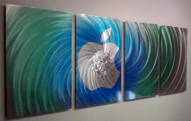 18 Mind Blowing Handmade Modern Metal Wall Art Pieces