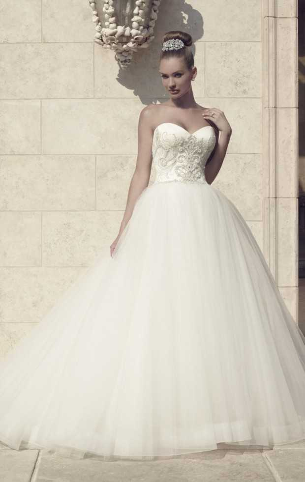 20 Beautiful Ball Gown Wedding Dresses For Glamorous