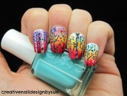 amazing colorful nail art ideas
