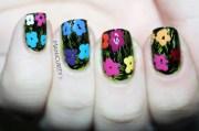 amazing colorful nail art ideas