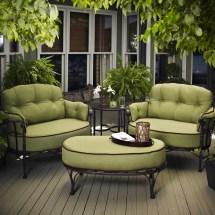Relaxing Patio Conversation Set Design Spring