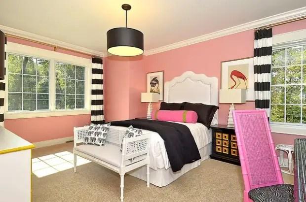18 Amazing Pink Bedroom Design Ideas For Teenage Girls