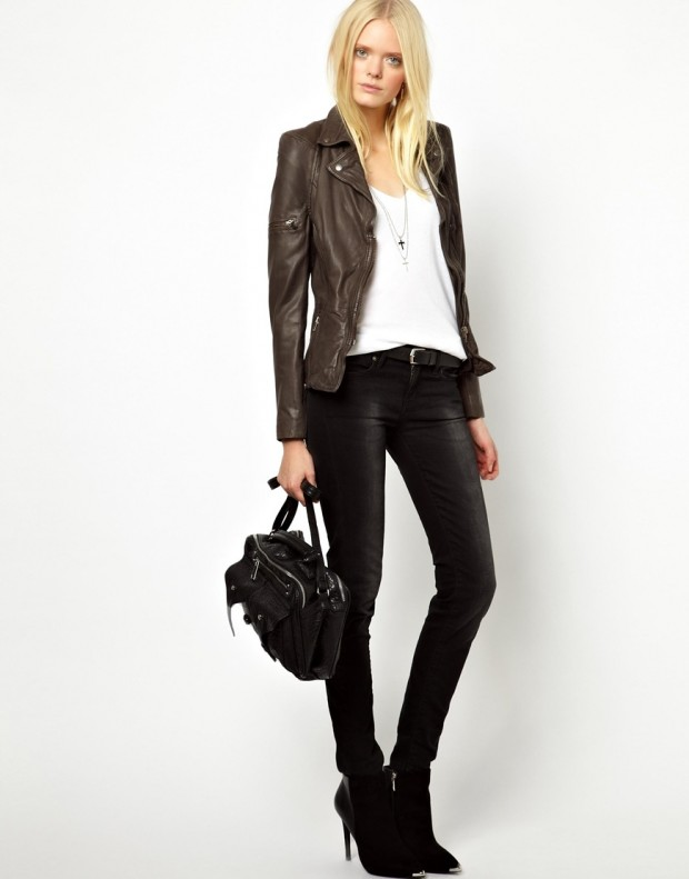 18 Leather Biker Jackets for Urban Chick Look  Style Motivation