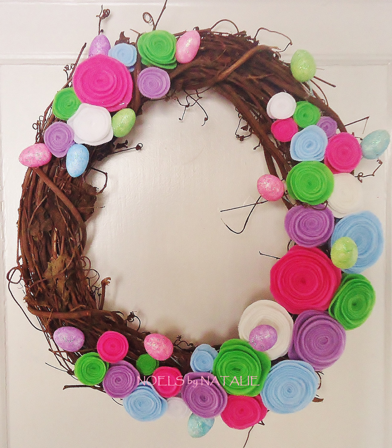 16 Cute Handmade Easter Wreath Ideas Style Motivation