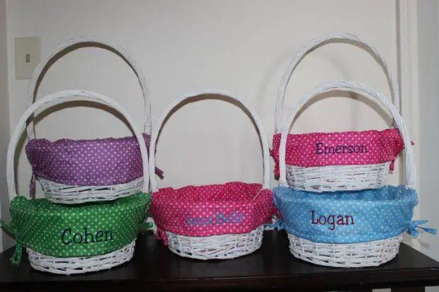 17 adorable handmade easter basket designs