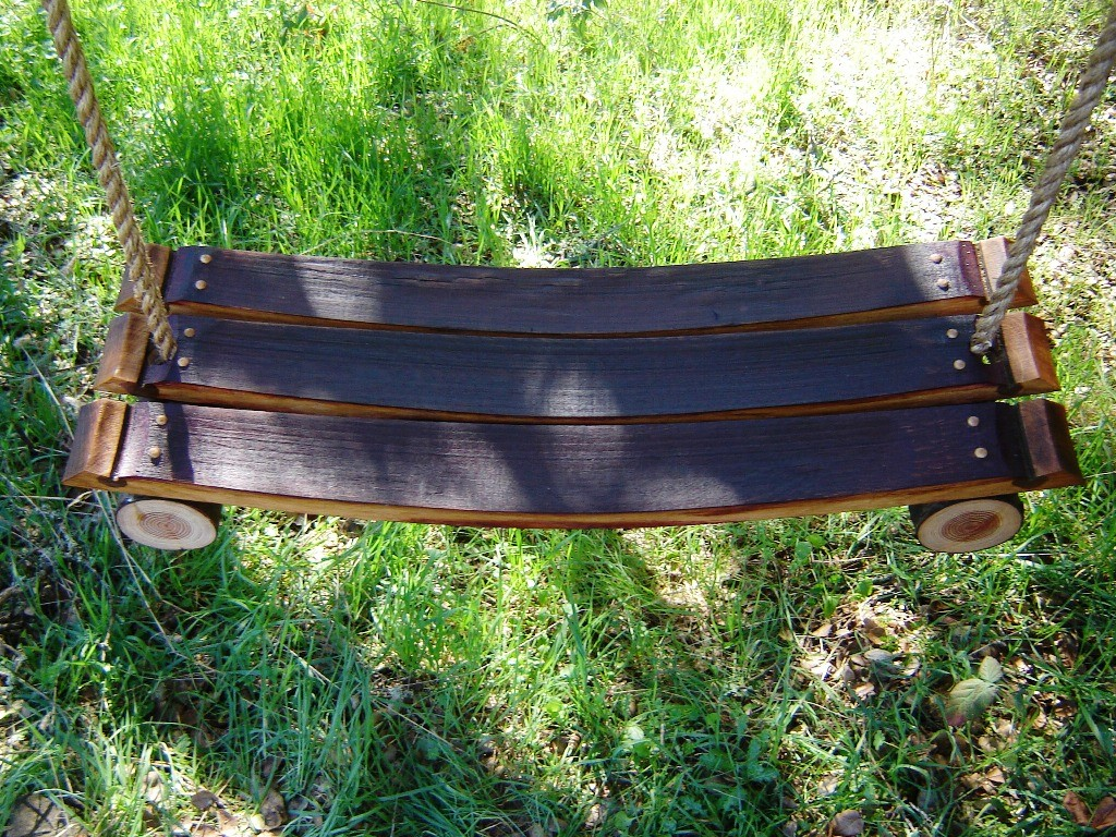 diy bedroom hammock chair office accessories hs code 15 cool projects from recycled wine barrel wood - style motivation