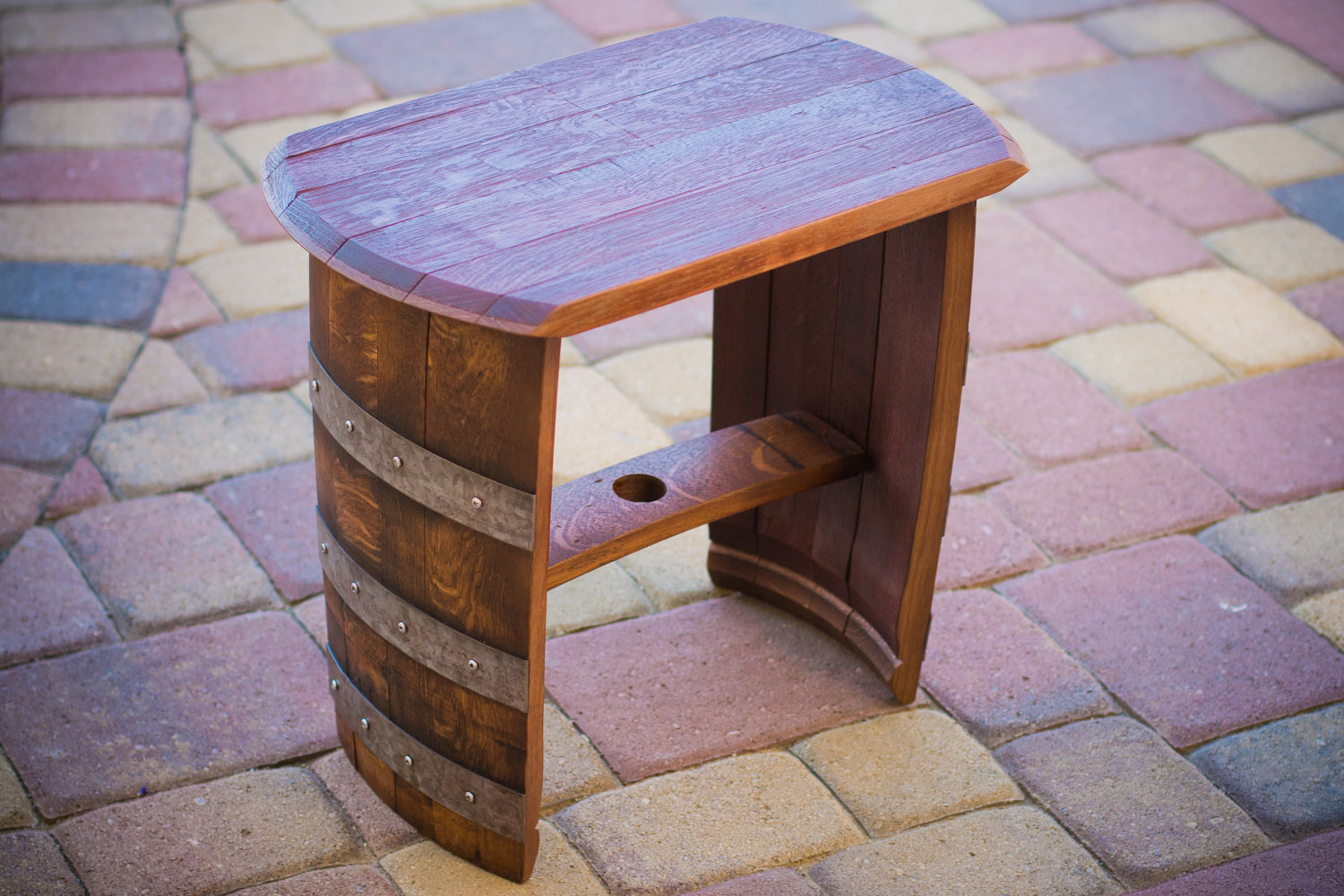 adirondack chair kit lightweight camp chairs 15 cool diy projects from recycled wine barrel wood - style motivation