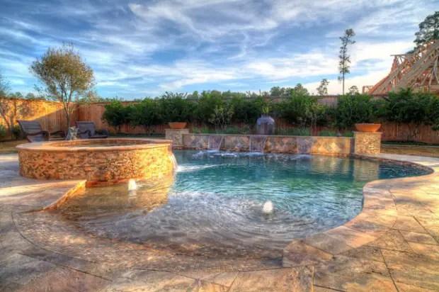 Beach Entry Pool Design Ideas - Pool Design Ideas