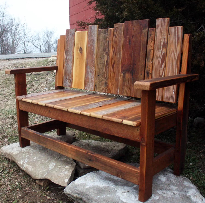 21 amazing outdoor bench ideas - style motivation
