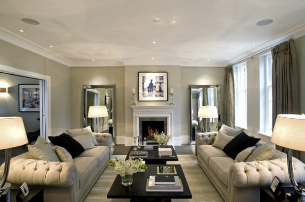 beautiful living room images pictures of modern rooms decorated 17 decorating ideas with wall mirrors style