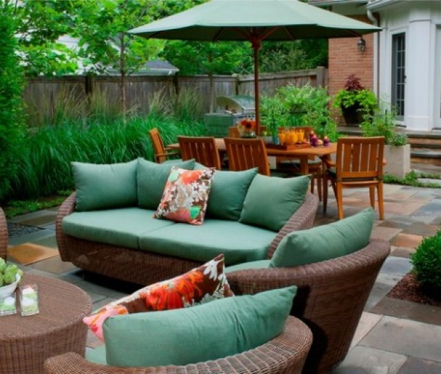 Wicker Patio Furniture Ideas For Perfect Outdoor Summer Decor