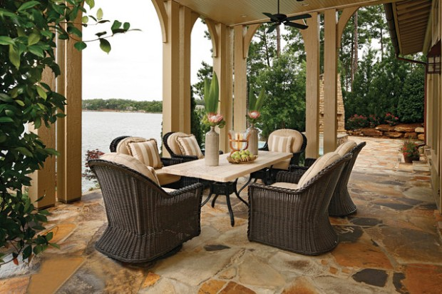 25 Wicker Patio Furniture Ideas for Perfect Outdoor Summer