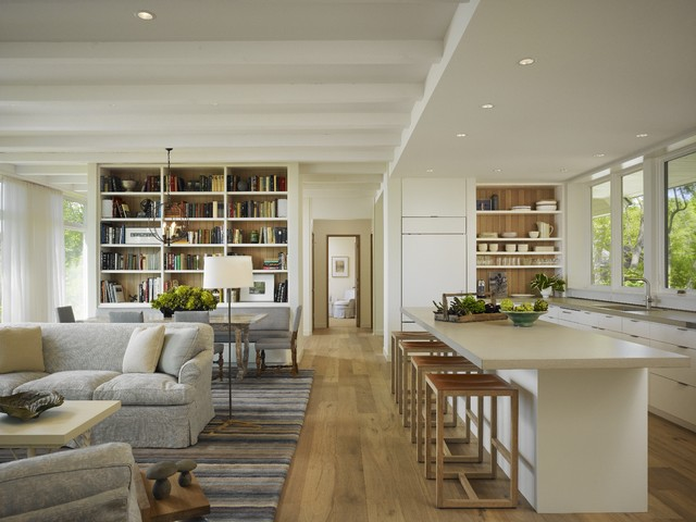 17 Open Concept Kitchen-Living Room Design Ideas - Style ...
