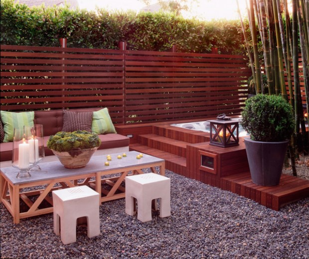 20 Landscaping Outdoor Spa Design Ideas You Must See Style