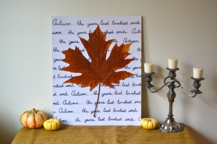 Image result for autumn diy