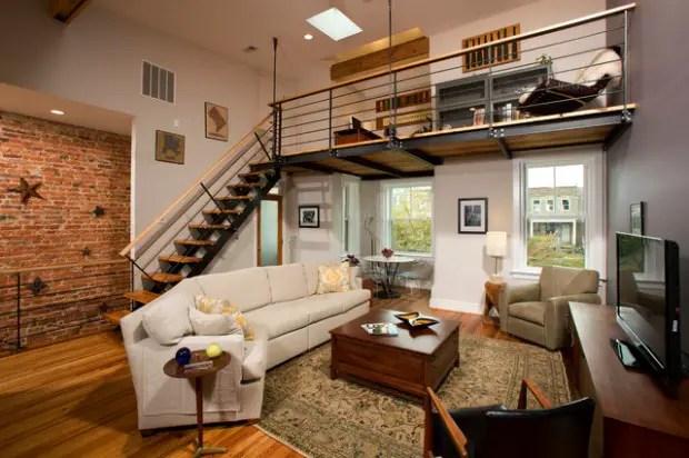 living room decor ideas for small apartments light blue paint colors 21 contemporary loft apartment design - style motivation