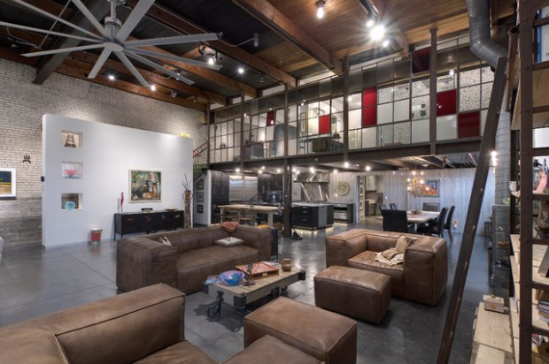 18 Fantastic Apartment Design Ideas in Industrial Style  Style Motivation