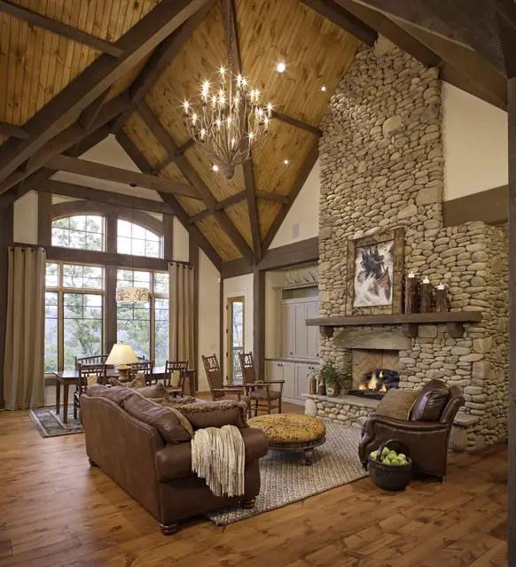 20 Cozy Rustic Living Room Design Ideas  Style Motivation