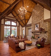 20 Cozy Rustic Living Room Design Ideas - Style Motivation