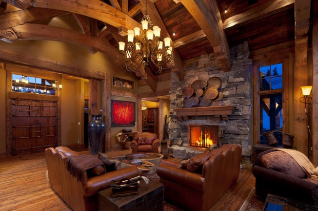 20 Amazing Fireplace Design Ideas for Cozy Rustic Interiors  Style Motivation