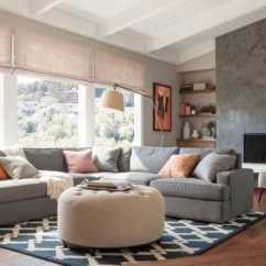 Sectional Living Room Design Ideas Fireplace Tv 20 Elegant And Functional With Sofas