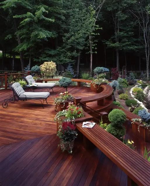 landscaping deck design ideas