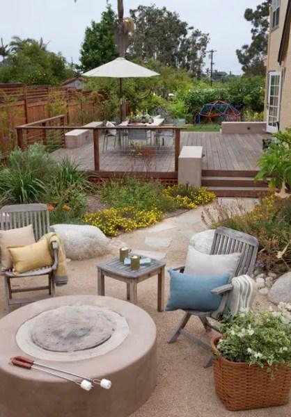 small backyard patio design ideas 20 Landscaping Deck Design Ideas for Small Backyards