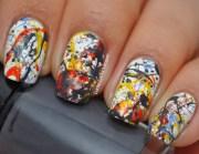 abstract nail art ideas- 20 creative