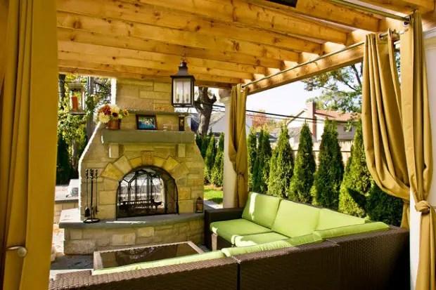 A Piece Of Heaven In Your Backyard 17 Pergola Curtain