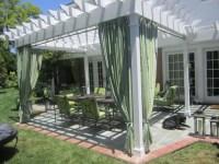 A Piece Of Heaven In Your Backyard: 17 Pergola Curtain ...