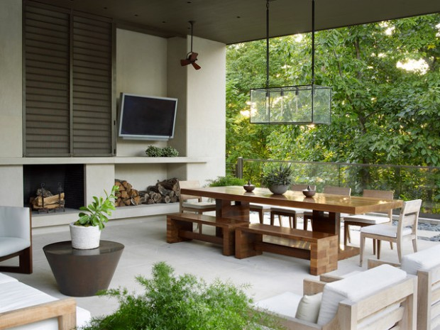 20 Outstanding Backyard Patio Design Ideas in Contemporary