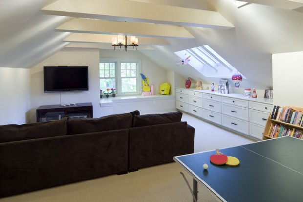 Amazing Ideas For Cozy Attic Family Room Style Motivation