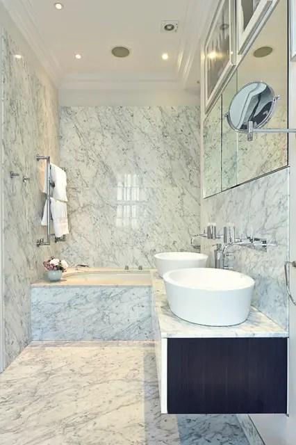 18 Stunning Marble Bathroom Design Ideas  Style Motivation
