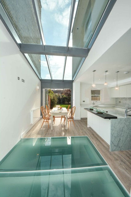 kitchen remodel ideas for small 5 piece table set 20 breathtaking glass floor an original interior ...