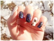 shattered glass manicures- 15 creative