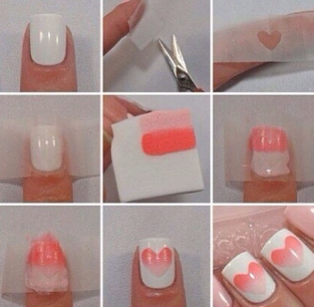 15 Easy Step By Valentines Day Nail