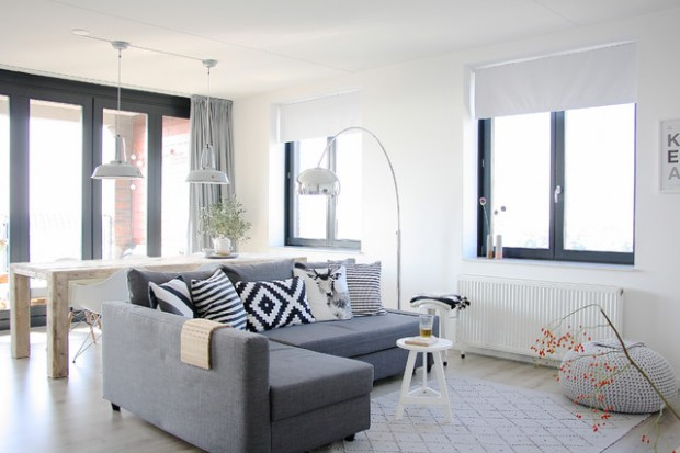 scandinavian living room design designs with log burner 18 light and stylish style motivation