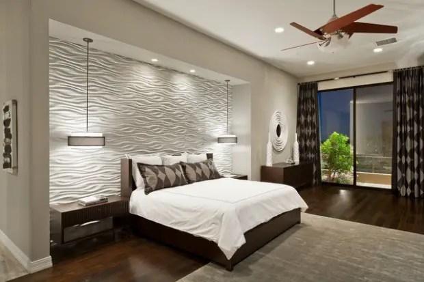 18 Stunning Contemporary Master Bedroom Design Ideas