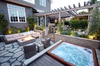 18 Stunning Decks and Patios Design Ideas with Hot Tubs ...